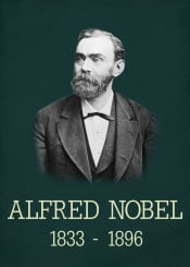 alfred nobel price scientist science inventor invention famous person photo photograph portrait