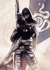 destiny class warlock titan hunter