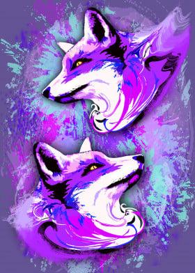 Purple Fox Spirit