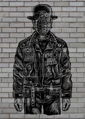 son man grenade war leather heisenberg graffiti