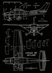 cessna skylane military airforce plane airplane