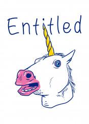 unicorn unicorns animal animals entitled cool