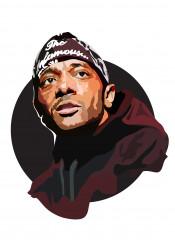 prodigy mobb deep music hip hop infamous rip portrait face