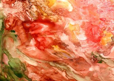 Rosie Brown Abstract Paintings   Displate Prints on Steel