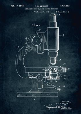 Medical patents by popculart displate 358 1949 microscope engineering engineer patent patents legendary blue print patentart medical medicine laboratory lab malvernweather Gallery