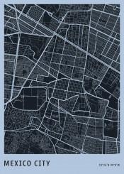 map maps citymap plan streets aerial mexico mexicocity
