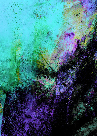 Pia Schneider ABSTRACT PAINTING   Displate Prints on Steel