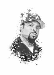ice cube nwa rap hiphop splatter