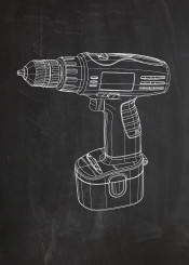 electric drill workshop work tool tools screw screwdriver engineering garage mechanic worker job patent drawing vintage