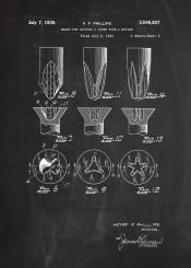 screwdriver patent screw drawing vintage blackboard blueprint drill workshop mechanic work building