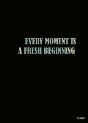 eliot fresh beginning quote black vintage blue inspiration motivation