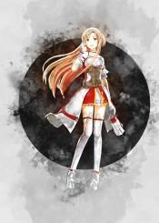 asuna sao swordart sword online