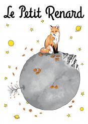 fox foxes foxy animals planet space le petit prince little