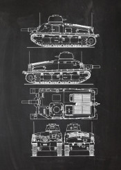 somua tank world tanks wwii war second battle warrior fighting vehicle allied armour armoured fight army usarmy blackboard blueprint blackprint vintage patent drawing