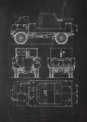 deacon fighting vehicle british war world infantry battle army armour armoured allied blackboard bleprint blackprint vintage patent drawing wwii