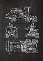 tank transporter armour armoured war battle soldier infantry blackboard blueprint vintage patent drawing
