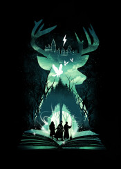 deer magical movies harrypotter symbol popculture nostalgia