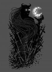 satan satanic dark darkart darkness horror mystery mystic design designs designart illustration blackandwhite death dead sebrodbrick