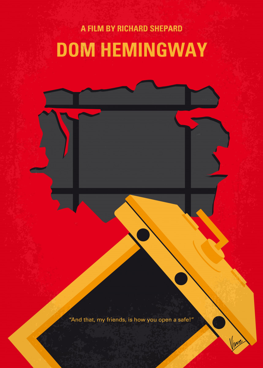 No917 My Dom Hemingway minimal movie poster 547433