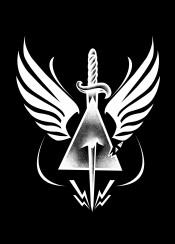 wings triangle dagger black white illustration artwork design designart graphic graphicdesign blacandwhite sebrodbrick