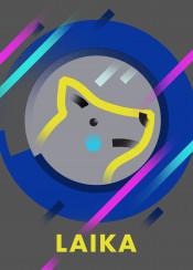 laika dog space ussr tear speed spaceship rocket