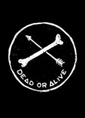 dead live arrow symbol symbolic symbolism blac white blackandwhite illustration design designart graphic graphicdesign simpleart typo text sebrodbrick deadoralive