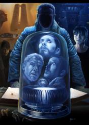 movie bladerunner 2049 painting oil canvas