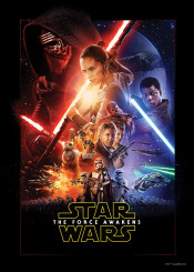 star wars force awakens movie posters