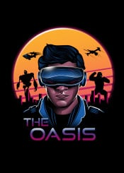ready player one synthwave retro 80s oasis