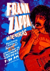 zappa frankzappa guitar legend music color culture