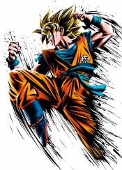 anime manga saiyan ozaru attack super ink power goku over 9000 kame zenkai genkidama kaioken ssj