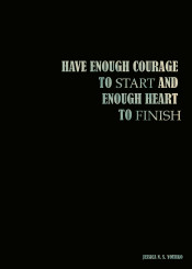 jessica yourko quote quotes minimal minimalism blue sky courage heart finish motivation inspiration black