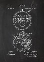 stop watch stopwatch time rolex omega certina atlantic patent drawing delbana junghans blackboard blueprint vintage sport watches