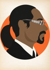 snoop doggy dogg posteritty rapper minimal minimalist