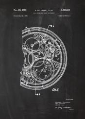 watch watches omega junghans rolex tag hauer patent drawing blackboard blueprint blackprint chalk seiko delbana doxa casio fossil timex atantic lorus