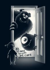 monster inc we scare because boo sullivan university childwood wardrobe nightmare animation cartoons