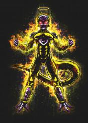dragonball freeza frieza gold evil dbz super anime manga god goldenfrieza ressurectionf japanese cartoon saiyan fighter dragonballz