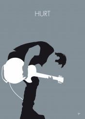 minimal minimalist alternative graphic design chungkong fan quote song music singer band rock guitar artist nine inch nails hurt johnny cash downard spiral trent reznor