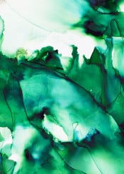 alcoholinks alcoholink inkpainting green abstract mountains artistic minimal artdeco homedeco haroulita white