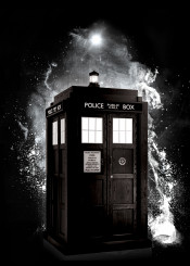 tardis drwho who dr police box bbc british cool engladn doctors space minimal black white retro simple fanfreak inspire tv movie years 80s 90s 00s call time travel rose eleven ten tenth