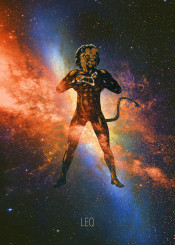 zodiac leo astrology space cosmos horoscope