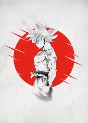 goku saiyan anime manga japan sumi dragonball dragon ball super