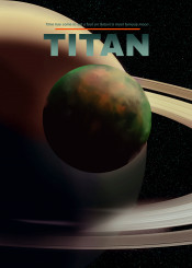 titan saturn moon planets space cosmos heliocentric awesome galaxy milkyway