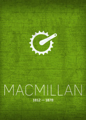 macmillan bicycle chain pedal invention inventor series kirkpatrick