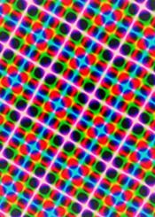 1970s disco discoball geometric diagonal patterns colors neon