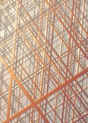 lines crisscross bronze silver geometric patterns gradient