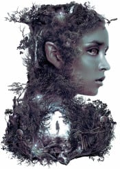 elf dark surreal nature forest spirits fantasy magic darkelf contemporary trees life death skulls skeleton horror magical scary beauty woman nude photoshop creature monster darkness beautiful girl lady elves portrait queen woods ghost macabre darkfantasy plants botanical water door