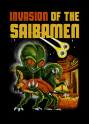 movie mashup ufo saiyan saiyans parody scifi dragonball dragon ball dbz dragonballz saibamen bmovie yamcha alien aliens westcity terror