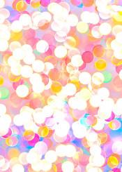bokeh dots lights color colorfull pattern