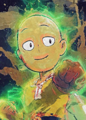 one punch man onepunchman canvas renegade